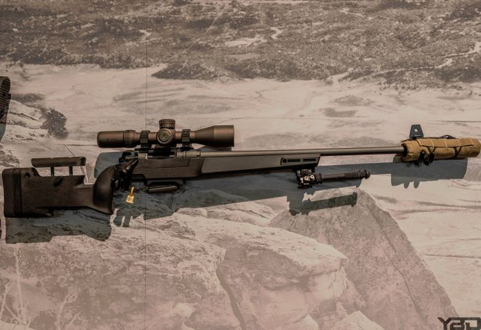 Low and behold what do we have here?! The NEW Daniel Defense DELTA 5 bolt action rifle.