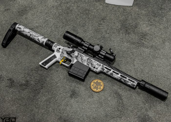 Now this was one of my favorite firearms of SHOT Show. This is the Gear Head Work