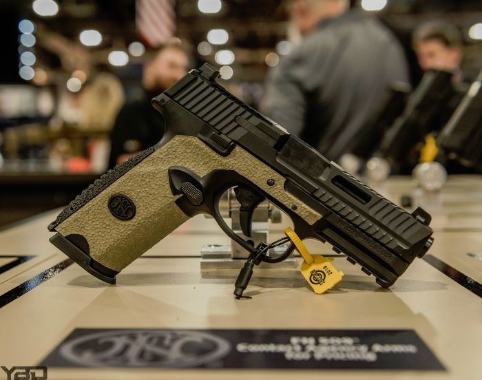 An Agency Arms and FN collaboration on their 509 pistol.