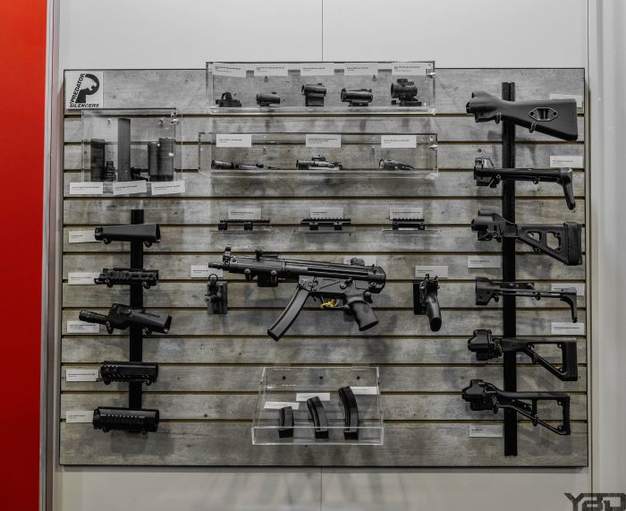 The MP5 is like the adult version of Legos. So many goodies to choose from.