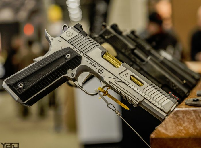 The Agent 2 1911 is the final product in an amazing collaboration between Nighthawk Custom and Agency Arms.