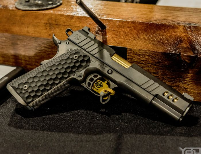 The President is in! The brand new President 1911 from Nighthawk Custom.