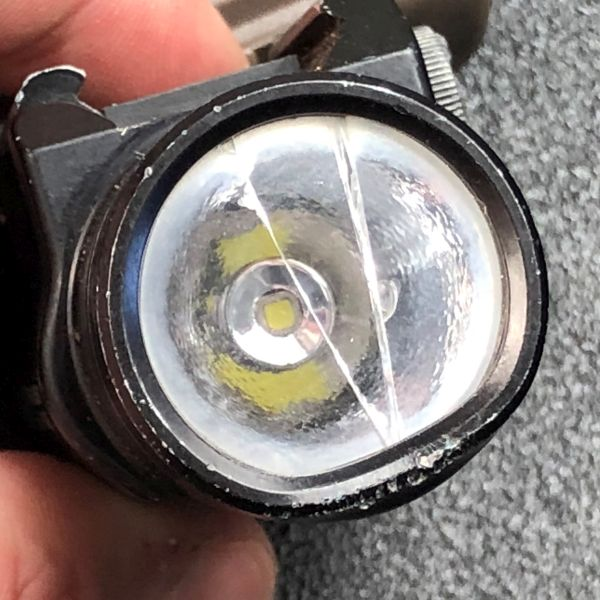 A comparison of 3 pistol mounted lights