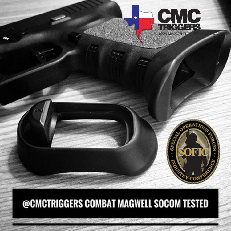 CMC TRIGGERS - Glock 19 Gen 3 Enhanced Combat Magwell