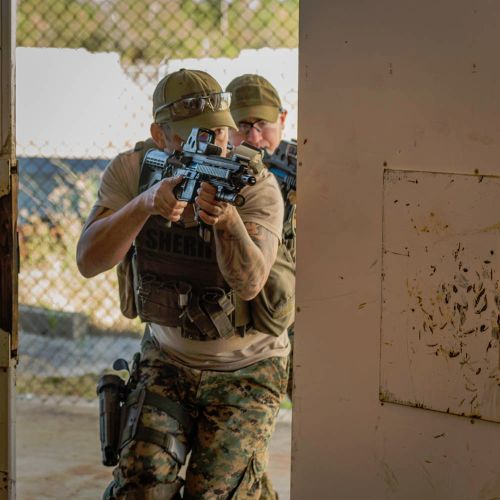 Close Quarters Battle Training
