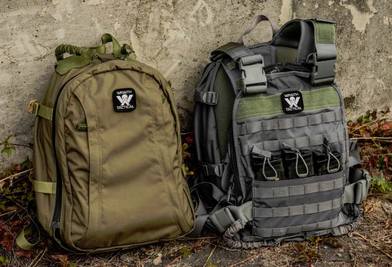 Generation III Wraith Tactical CARR Pack in Stealth Gray and Ranger Green