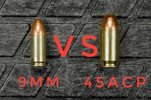 The Great Debate 9MM vs 45ACP