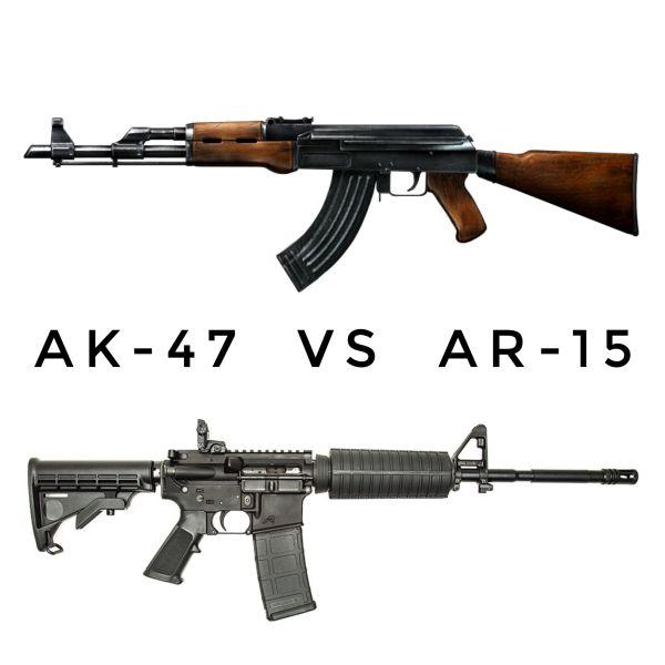 The Great Debate:AK-47 vs AR-15