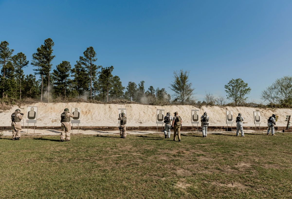 Government Training Institute Live Fire Shooting Range