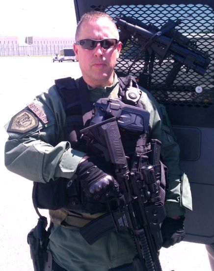 Instructor Anthony Weed SWAT