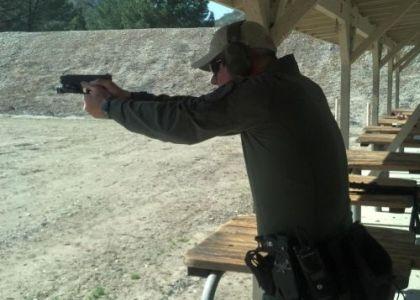 Instructor Ken Witt Range