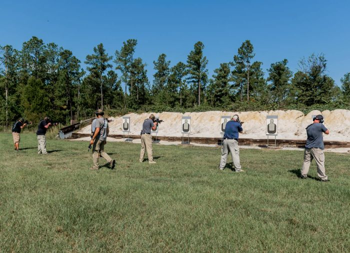 GTI Joint Operations Center Live Fire Range Barnwell South Carolina