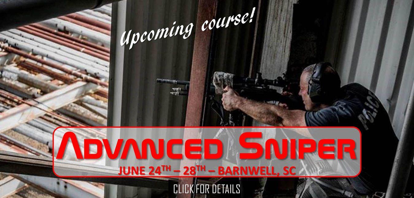 Advanced Sniper Course June 24-28 2019