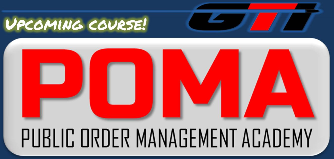 Public Order Management Academy Course November 11th-15th, 2019