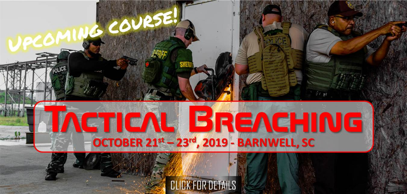 Tactical Breaching October 21st - 23rd, 2019