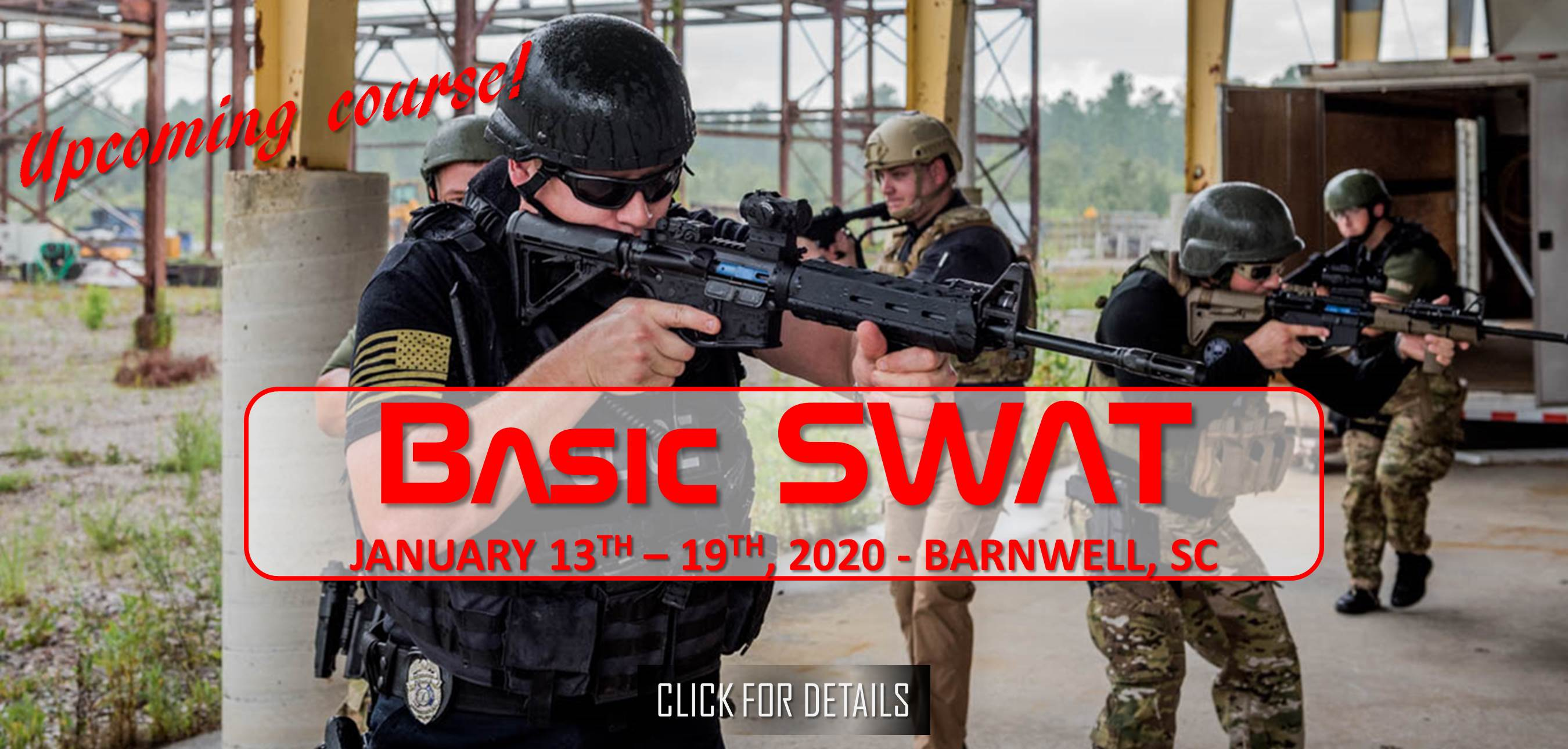 DHS Basic SWAT January 13th - 19th, 2020