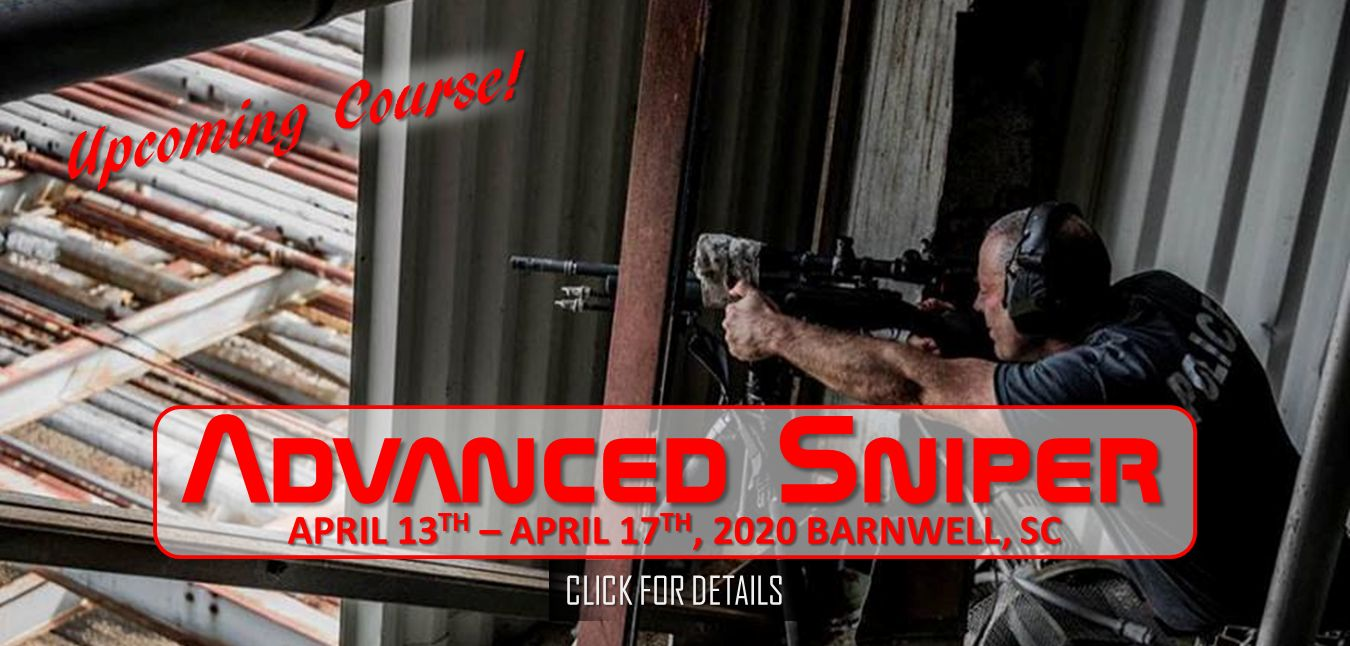 Advanced Sniper April 13th - 17th 2020
