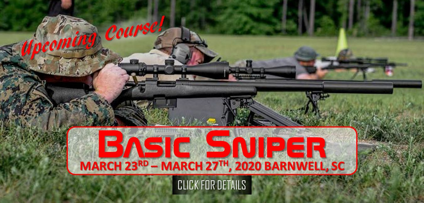 Basic Sniper March 23rd - 27th 2020
